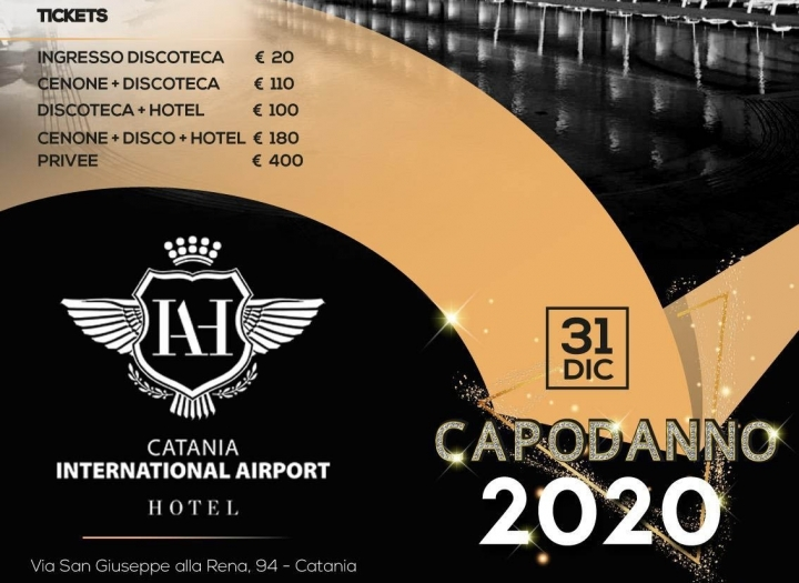 Capodanno Airport International Hotel Catania Foto